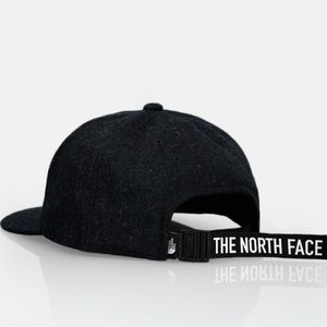 The North Face Black Marled Wool TNF Ball Cap Hat